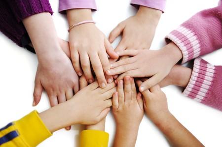 many hands Stock Photo - 7992896