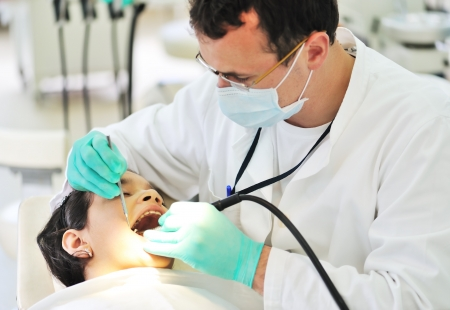 at dentist Stock Photo - 7992872