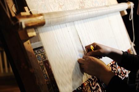 woll: Handmaking carpet