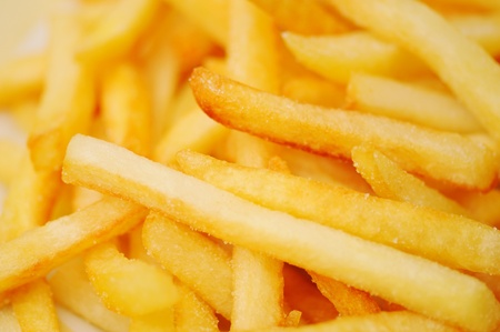 frites: French fries potatoes