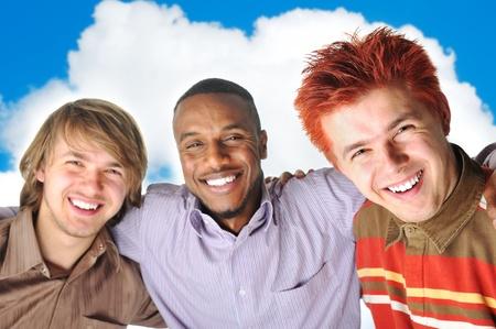 caucasian ethnicity: best friends Stock Photo