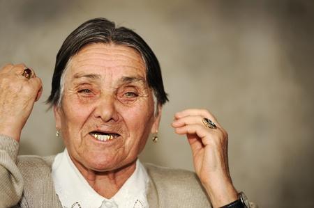 Portrait of mature woman  photo