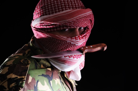 evil man: Terrorist