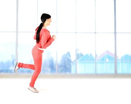 Fitnes,active beautiful healthy girl Stock Photo - 9017056