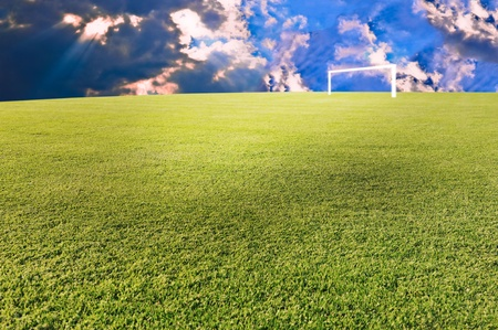 Footbal scene photo