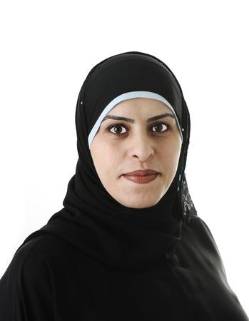 Muslim Arabic woman portrait Stock fotó