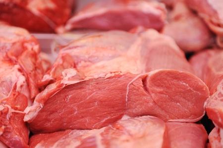 carnicero: Surtido de carne en una carnicer�a