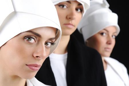 femmes musulmanes Banque d'images - 9498351