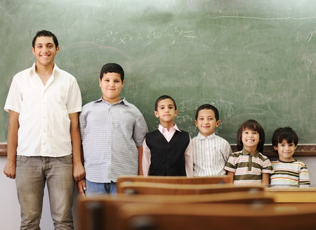 elementary age boy: School student generations steps, from preschooler to university