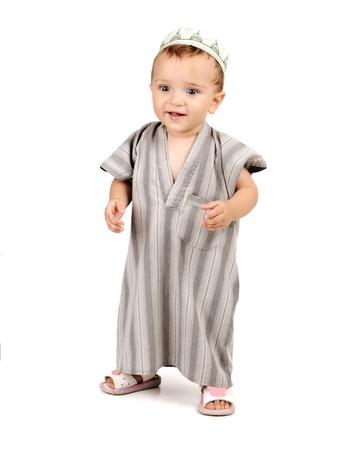 muslim baby: little happy muslim kid baby