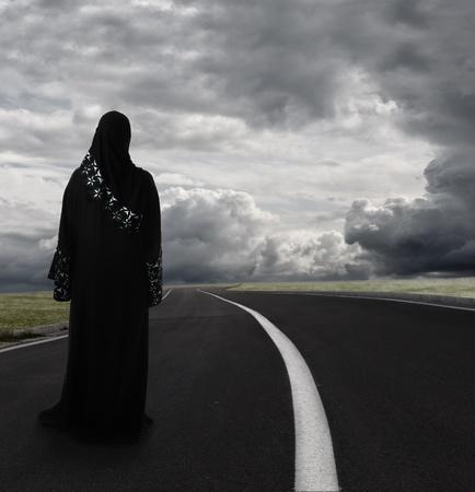 femme musulmane: Femme musulmane arabe