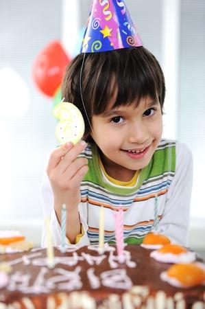 Child birthday, 6 years old