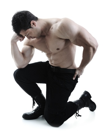 The Perfect male body - bodybuilder Stock Photo - 10316795