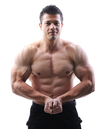 bodybuilder man: The Perfect male body - Awesome bodybuilder posing