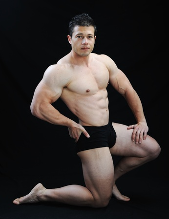 underpants: The Perfect male body - Awesome bodybuilder posing