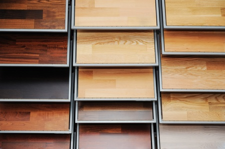 Top samples of various color palette - wooden floor Фото со стока