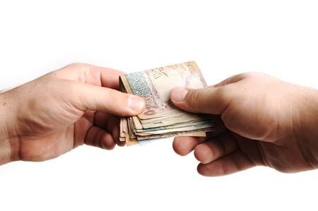numismatic: Giving money