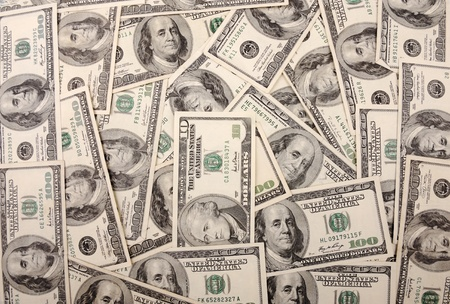 Dollars background Stock Photo - 10680889