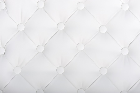 Luxury white  leather close-up background photo