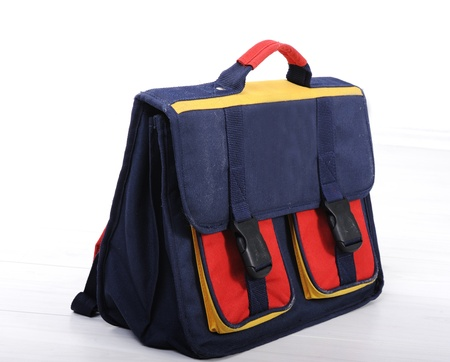 illiterate: Backpack for school