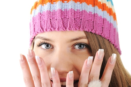 Happy Winter Beautiful Girl photo