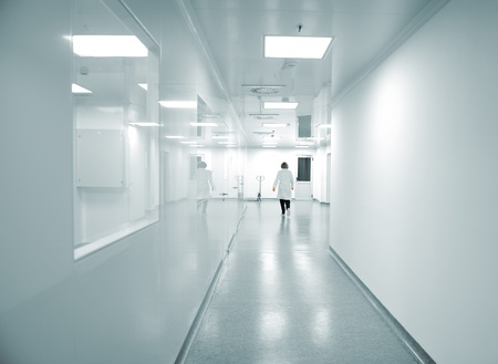 health facilities: Modern bright factory interior
