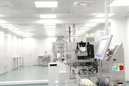 laboratorio: la l�nea de producci�n en la moderna f�brica