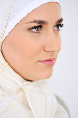Muslim Arabic woman photo