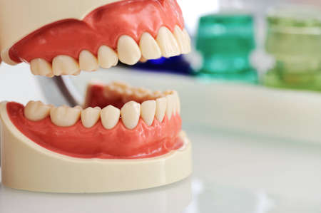 desease: Dental jaw Stock Photo
