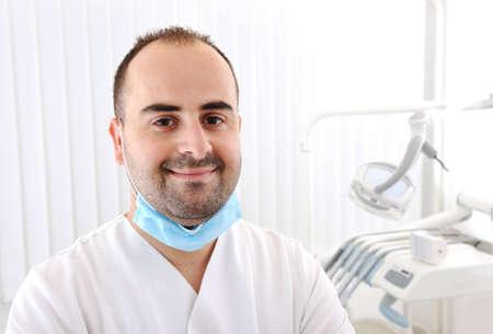 Teeth checkup at dentists office photo