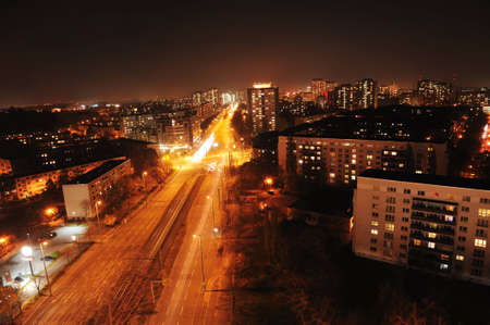 Berlin in Germany at night Stock Photo - 12617329
