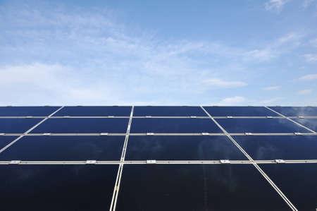 Solar panels energy field Stock Photo - 12627455