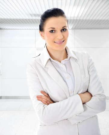 Confident business woman indoor photo