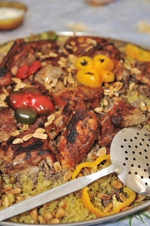 arabian food: Arabian traditional food Stock Photo
