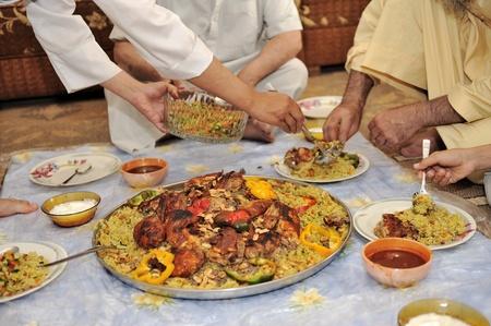arabian food: Middle eastern food Stock Photo