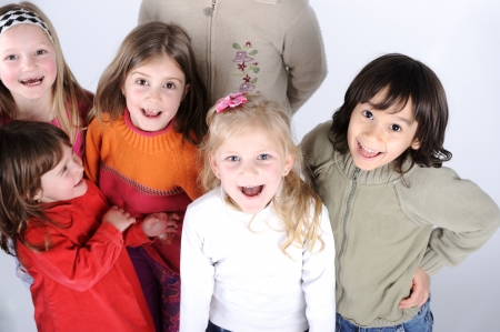 Group of kids Stock Photo - 13687069