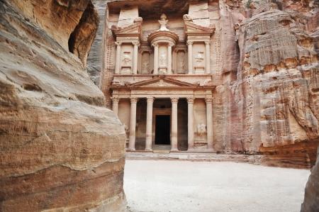 Petra, ancient city, Jordan photo