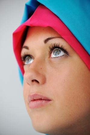 Muslim girl with hijab Stock Photo - 13667836