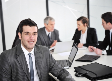 Portrait of businessman in the office Stock Photo - 13667734