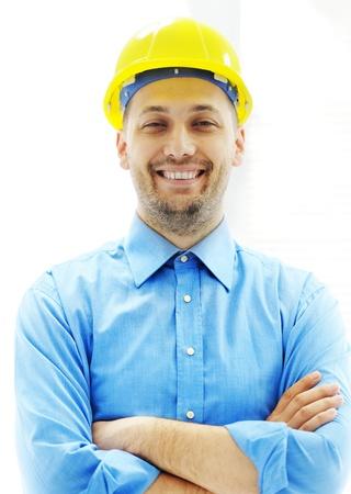 arhitect: Young confident arhitect