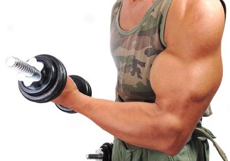 hombre fuerte: Hombre fuerte con un cuerpo helthy
