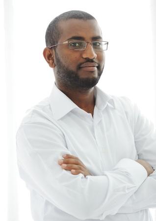 Middle Eastern Arabic black man photo