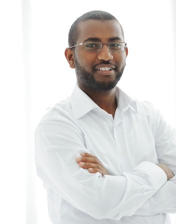 Middle Eastern Arabic black man Stock Photo - 13827841