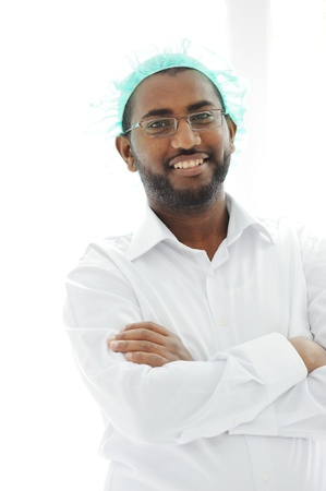African American Arabic Doctor Stock Photo - 13827959