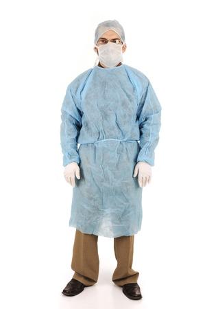 doctor in scrubs Stock Photo - 14054686