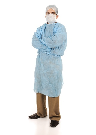 doctor in scrubs Stock Photo - 14054614