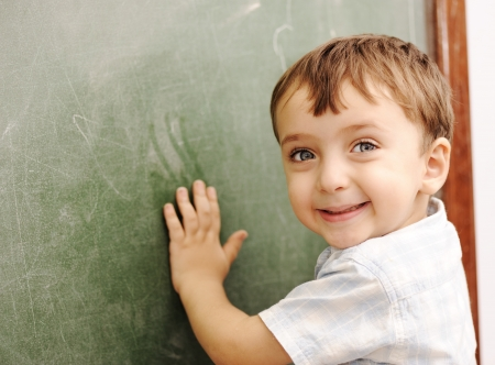 Children at school classroom Stock Photo - 14054015