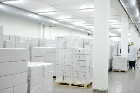 warehouse interior: Medical magazzino