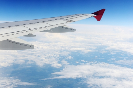 View sky from an airplane Stock Photo - 14432804