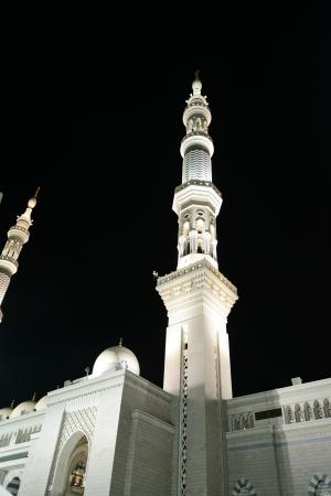 madina: Prophets Mosque at Madina Stock Photo